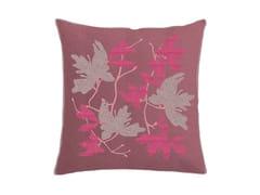 Cuscino quadrato in cotone con motivi florealiPEACH BLOSSOM | Cuscino con motivi floreali - SANS TABÙ