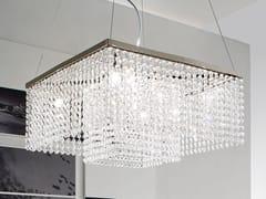 Lampada a sospensione con cristalliKRISTAL   Lampada a sospensione - ADRIANI E ROSSI EDIZIONI
