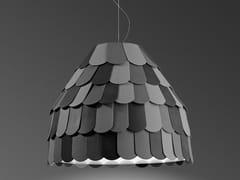 - Plastic pendant lamp ROOFER | Pendant lamp - Fabbian