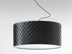 - Imitation leather pendant lamp MARIÙ | Pendant lamp - LUCENTE - Gruppo Rostirolla