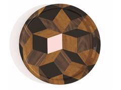 - Round multi-layer wood tray PENROSE ROND SPRINGWOOD - Bazartherapy