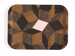 - Rectangular multi-layer wood tray PENROSE SERVICE SPRINGWOOD - Bazartherapy