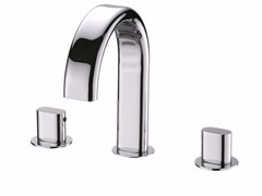- 3 hole countertop chromed brass washbasin tap PERFECTO | 3 hole washbasin tap - JUSTIME
