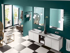 - Bathroom cabinet / vanity unit PERFETTO+ - Composition 1 - INDA®