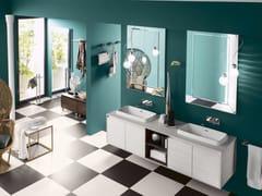- Sistema bagno componibile PERFETTO+ - Composizione 1 - INDA®