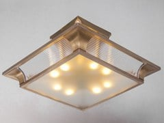 - Direct light handmade brass ceiling lamp PETITOT V | Ceiling lamp - Patinas Lighting
