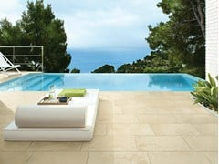 - Porcelain stoneware outdoor floor tiles with stone effect PETRA SOLIS | Outdoor floor tiles - Panaria Ceramica