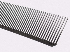 Elemento e griglia di ventilazionePETTINE ANTIUCCELLI - HAROBAU