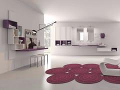 - Laminate bathroom cabinet / vanity unit PFS - Composizione 3 - INDA®