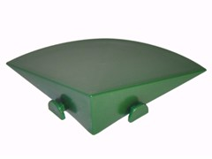 - Plastic corner kerb PIASTRELLA | Kerb - PONTAROLO ENGINEERING