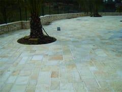 Pavimento/rivestimento in pietra naturalePIETRA ALBA GIALLA - LONGOBARDI PORFIDI