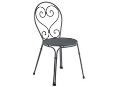 - Stackable steel garden chair PIGALLE | Chair - EMU Group S.p.A.