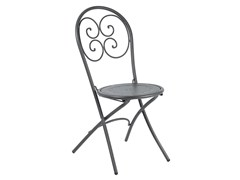 - Folding steel garden chair PIGALLE | Folding chair - EMU Group S.p.A.