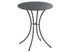- Round steel garden table PIGALLE | Round table - EMU Group S.p.A.