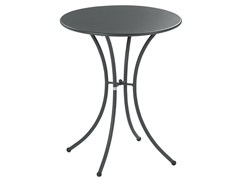 - Tavolo da giardino rotondo in acciaio PIGALLE | Tavolo rotondo - EMU Group S.p.A.