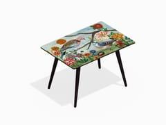 - Rectangular laminate coffee table PIGEONS XL - Bazartherapy