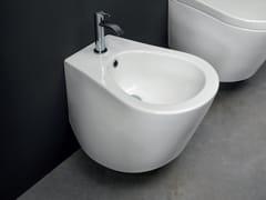 Bidet sospeso in ceramicaPILLOW | Bidet sospeso - NIC DESIGN