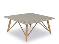 Tavolino basso da caffè da giardino in cordaPIMLICO | Tavolino - INDIAN OCEAN