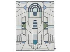 Tappeto fatto a mano a motivi geometriciPITAGORA OUTLINE - CC-TAPIS ®