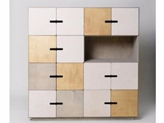 - Highboard with doors PIX 4 x 4 - Radis