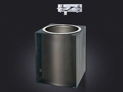 - Lavabo sospeso in resina PLATINUM GLOSS | Lavabo - Vallvé Bathroom Boutique