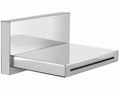 - Chrome-plated wall-mounted spout PLAYONE 85 - 8549203 - Fir Italia
