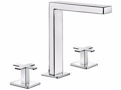 - 3 hole countertop washbasin tap PLAYONE PLUS 37 - 3712505 - Fir Italia