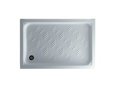 - Anti-slip rectangular shower tray PLAZA 120 X 80 - GALASSIA