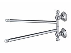 - Swivel brass towel rack PLEIADI | Swivel towel rack - LINEAG