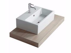 - Wooden washbasin countertop PLUS DESIGN 98 | Washbasin countertop - GALASSIA