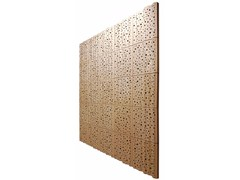 - Plywood decorative acoustical panels PLY 1 MOON - SHOWROOM Finland