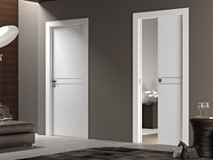 - Wooden pocket sliding door DEMETRA | Pocket sliding door - Pail Serramenti