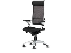 - Swivel task chair with 5-Spoke base with armrests POINT | Swivel task chair - Wiesner-Hager