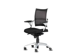 - Swivel task chair with 5-Spoke base with armrests POINT | Task chair with 5-Spoke base - Wiesner-Hager