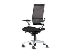 - Swivel task chair with 5-Spoke base with armrests POINT | Task chair with armrests - Wiesner-Hager