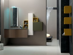 - Bathroom cabinet / vanity unit POLLOCK - COMPOSITION 39 - Arcom
