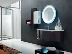 - Bathroom cabinet / vanity unit POLLOCK - COMPOSITION 40 - Arcom