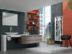 - Bathroom cabinet / vanity unit POLLOCK YAPO - COMPOSITION 50 - Arcom