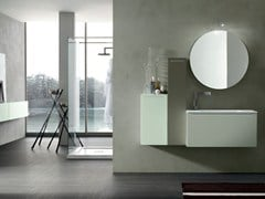 - Bathroom cabinet / vanity unit POLLOCK YAPO - COMPOSITION 32B - Arcom