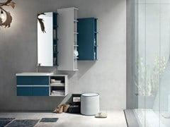 - Bathroom cabinet / vanity unit POLLOCK YAPO - COMPOSITION 52 - Arcom