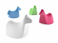 Cavallo a dondolo in polietilenePONY - PLUST COLLECTION BY EURO3PLAST
