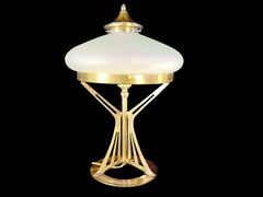 - Direct light handmade brass table lamp PRAGUE I | Table lamp - Patinas Lighting