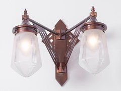 - Direct light handmade brass wall lamp PRAGUE III | Wall lamp - Patinas Lighting