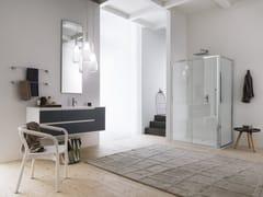 - Laminate bathroom cabinet / vanity unit PRESTIGE - Composition 2 - INDA®