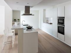 Cucina componibile laccata con isolaPRIMA | Cucina con isola - GF FLORITELLI