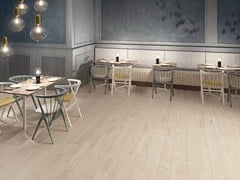 - Ecological porcelain stoneware flooring with wood effect PRIME BEIGE - CERAMICHE KEOPE