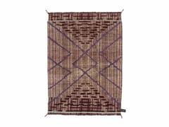 - Handmade rectangular rug PRIMITIVE WEAVE 2 - cc-tapis ®