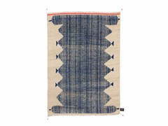 - Handmade rectangular rug PRIMITIVE WEAVE 4 - cc-tapis ®