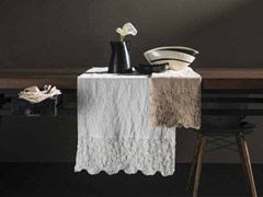- Linen Table runner PRIMULA | Table runner - LA FABBRICA DEL LINO by Bergianti & Pagliani
