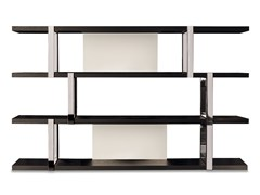 - Bookcase DALTON CHROME - Minotti
